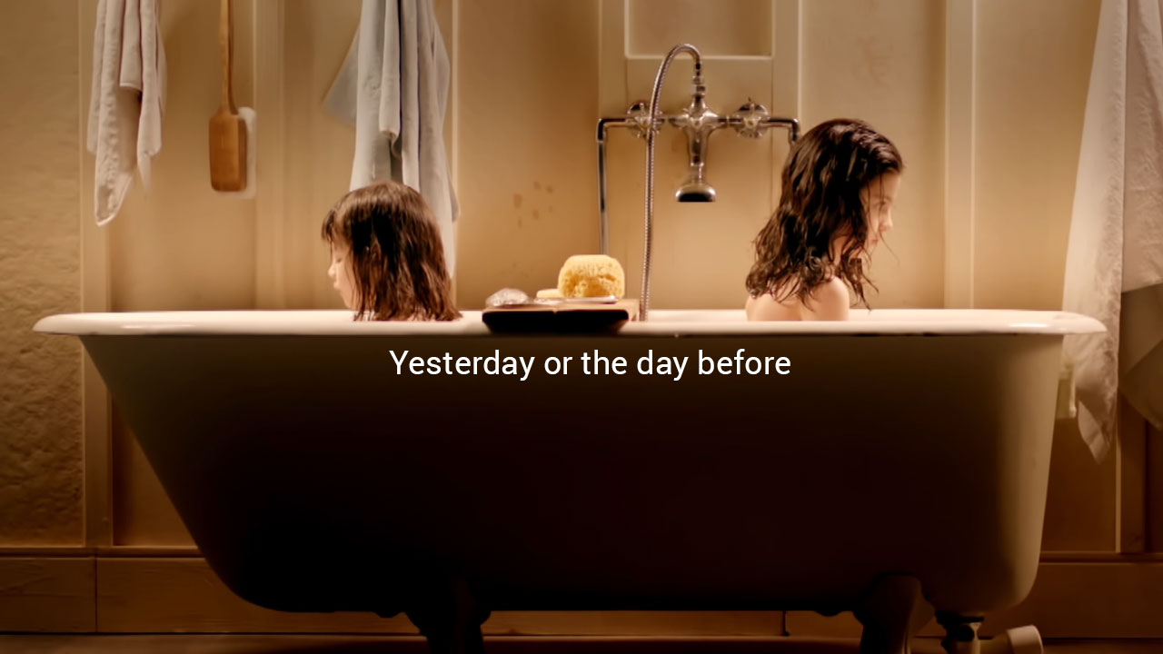Yesterday or the day before<br>A previous short film by director Hugo Sanz